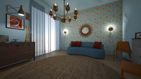 Ures szoba berendezes4 - Living room  - by bildiko