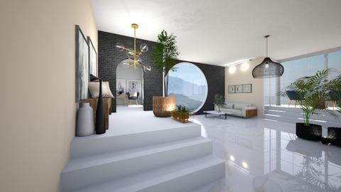 Stairs_Meghan - Living room  - by Meghan White