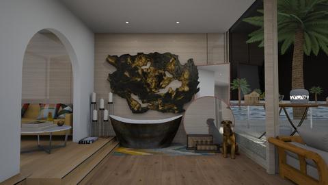 tropical bathroom - Modern - Bathroom  - by marielisa34
