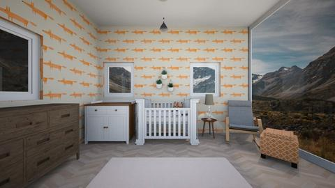 nursery - Bedroom  - by ChaTheRoomPlaner
