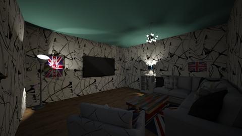 Living Room  - by Ellie Torres