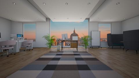 City Office - Rustic - Office  - by natalieeyauu
