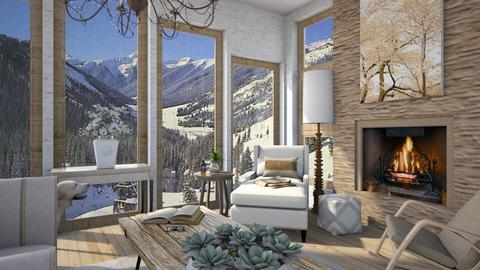 Design 521 Chair and Glass in Winter - Living room  - by Daisy320