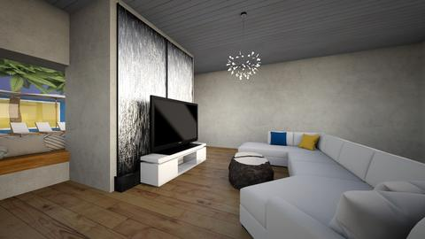Mansion Living room - Modern - Living room - by umperson