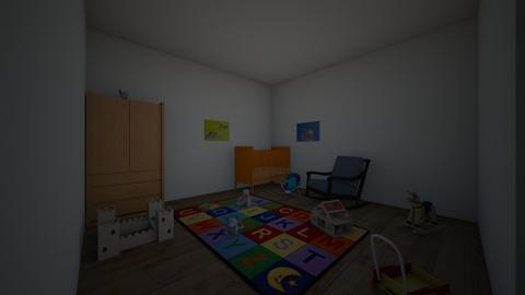 baby room - Retro - Kids room  - by PlusUltra123