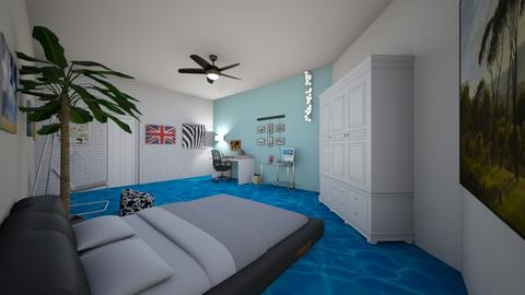 Beachy Room 2 - Bedroom  - by park7