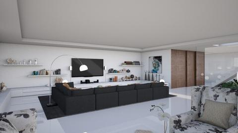 Estoril XII - Modern - Living room  - by Claudia Correia