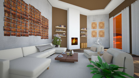 lil Peace - Living room  - by iglitola