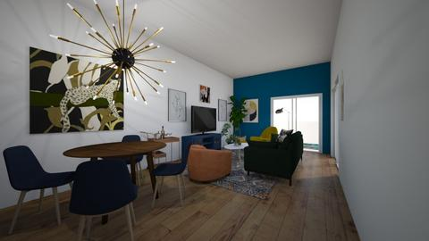 LA Townhome_mod - Living room  - by cmhoward