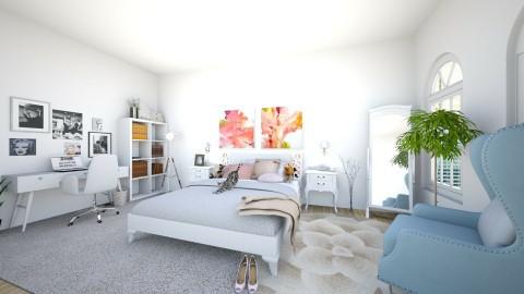 girly bedroom - Vintage - Bedroom  - by MarvelGlimmer