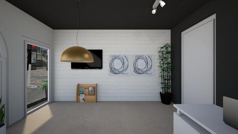 Left hand side wall - Minimal - Office - by mgangles