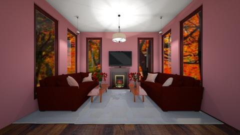 Fall - Bedroom  - by Hersheys