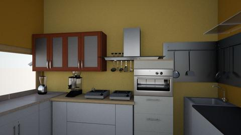 Robin 1 - Classic - Kitchen - by jwal p