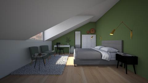 Ivy - Bedroom  - by Noa Jones