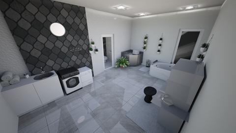dzfbhbv - Bathroom  - by Scarlet777