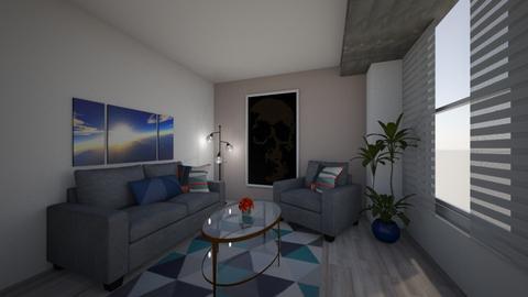 Abstract Room - Living room  - by RhileyM