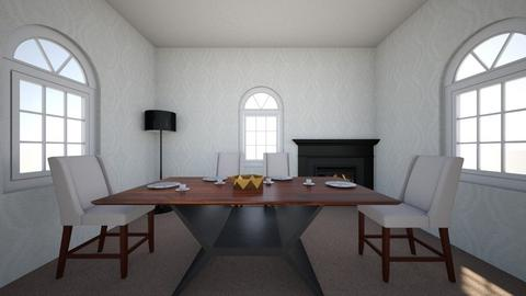 White Classic - Classic - Dining room  - by EvaBest