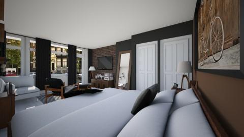 Bedroom redesign1 - Modern - Bedroom - by tiffmonaee