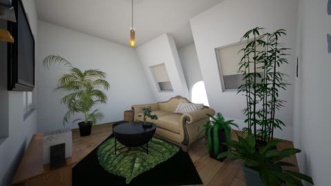 tropical living room - Living room - by zoogirl43