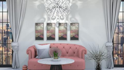 Blush City Living Room   CR - Living room  - by weinsteinkids