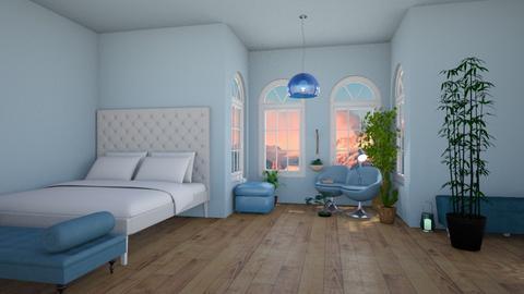 blue - Bedroom - by joanneonline