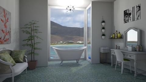 Luxury Bath - Bathroom  - by KarJef