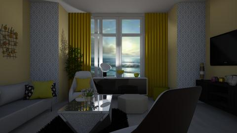 Baywindow room - Living room - by Ana Angela