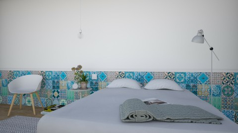 Santo Antonio - Vintage - Bedroom  - by Maria Esteves de Oliveira