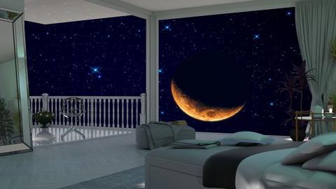 Night sky bedroom - Bedroom  - by nat mi