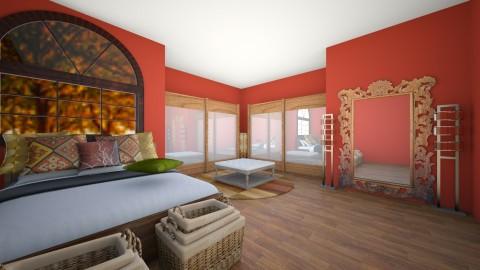 bohemian feel - Rustic - Bedroom  - by alwaysone
