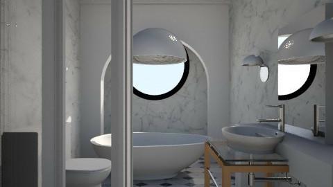 Nakagi Capsule Room Bath - Modern - by wagner herbst padilha