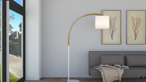 Floor Lamp - by KierraClumdesign