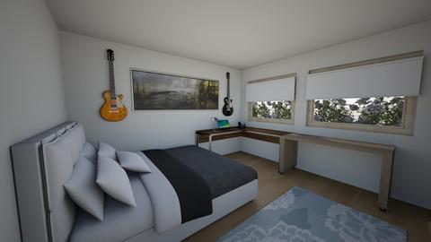 marks bedroom - Bedroom  - by MarkAngier