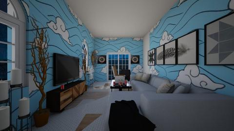 Indoor Picnic - Living room  - by Avatarrr