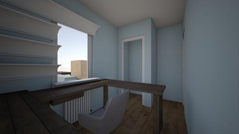 Office White Shelves - Office - by cnovinski