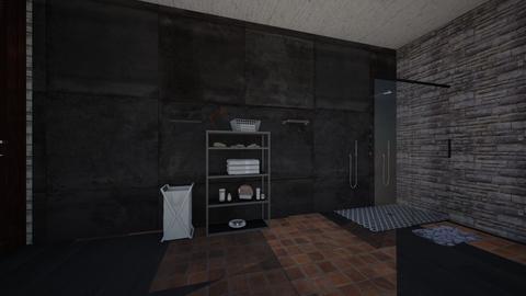 vars bathroom 3 - Living room - by varshitha