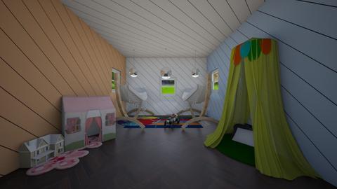 kids room contest - Kids room  - by greekgirl37