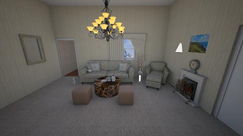 old cream - Living room  - by Hamzah luvs cats