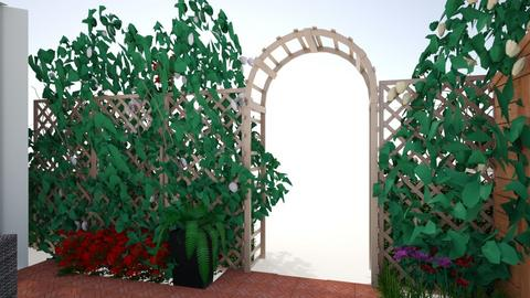 Tuin Z met beplanting - Garden  - by hansdegroot