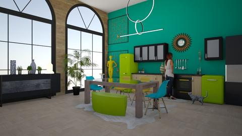 color me cook - Modern - Kitchen - by rcrites457