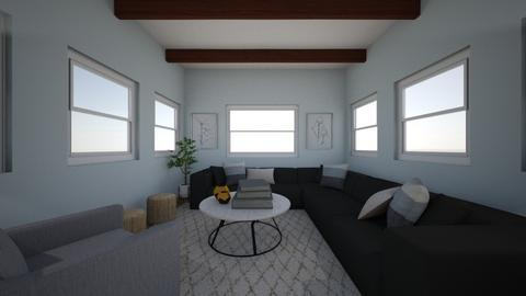 dream living room  - Rustic - Living room  - by addiejo7551