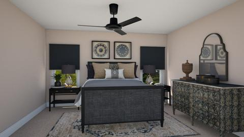 Dupree Master Bedroom - Eclectic - Bedroom  - by Alison Hayes