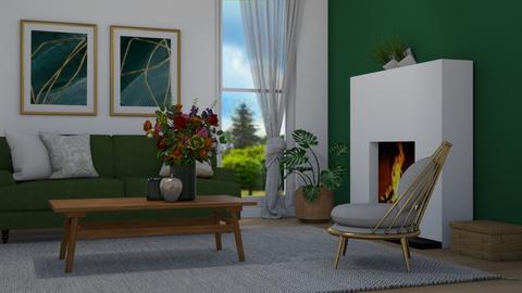 Emerald - Living room  - by Tuija
