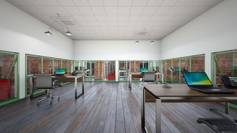 Socially Distanced Office - Office - by SammyJPili