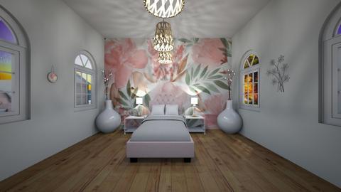 Floral Room - Kids room - by bryangra000