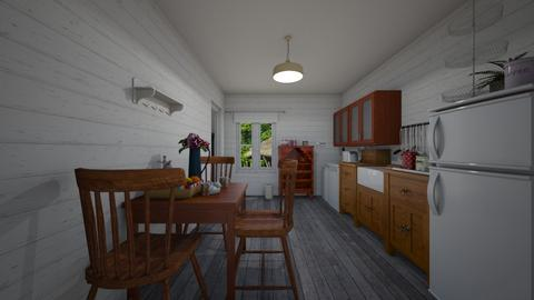 Polish village  - Rustic - Kitchen  - by adriannaw