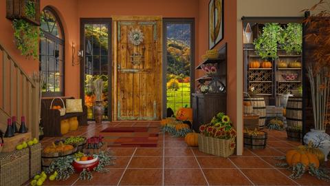 Autumn Harvest - by lydiaenderlebell