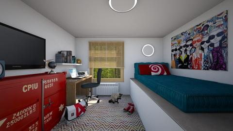 For Laura Mary I - Eclectic - Bedroom  - by Theadora