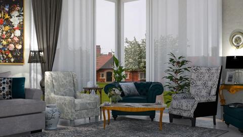 three armchairs - Living room  - by nat mi