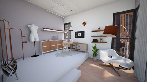 New York Sewing Studio - Modern - Office - by kerryrosemoan